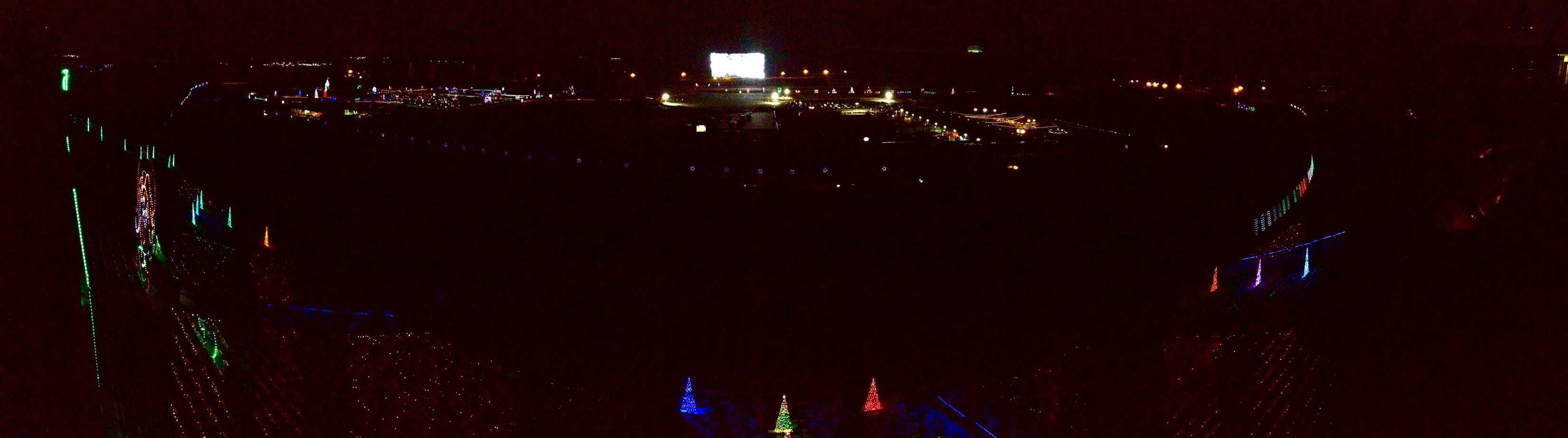 img_5307 - Charlotte Motor Speedway Christmas Lights 2014