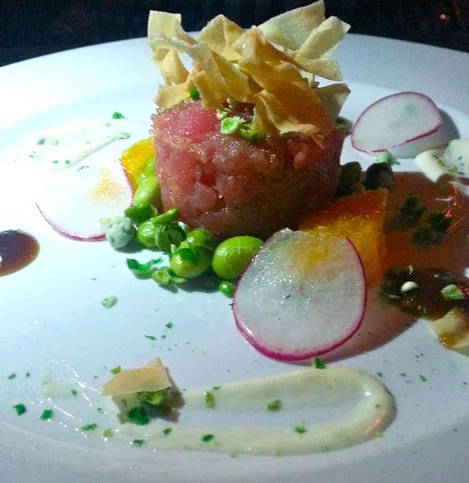 nan and byron's tuna tartare
