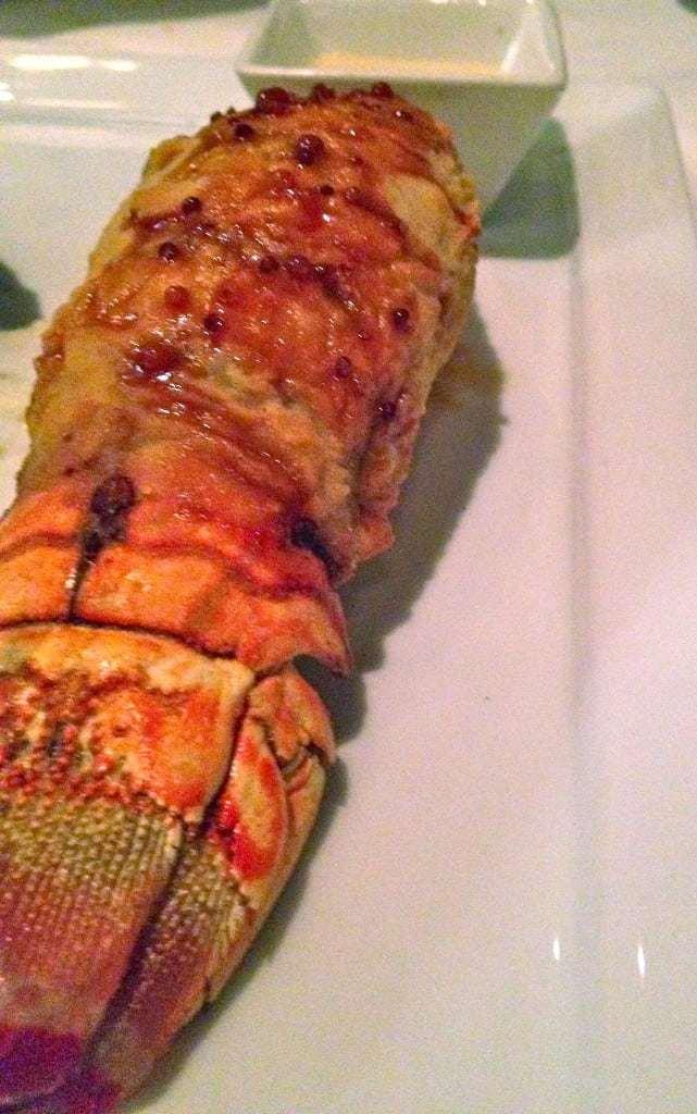 tempura fried lobster tail bonterra