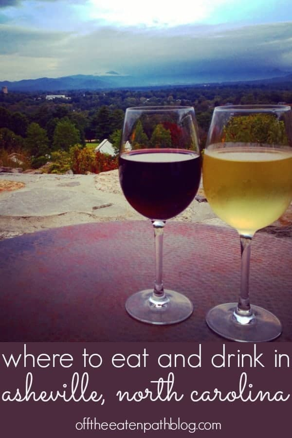 where to eat and drink in asheville, north carolina. plan a weekend getaway or road trip to asheville, a travel destination in the north carolina mountains and enjoy their fabulous restaurants and breweries! asheville needs to be on your travel bucket list!
