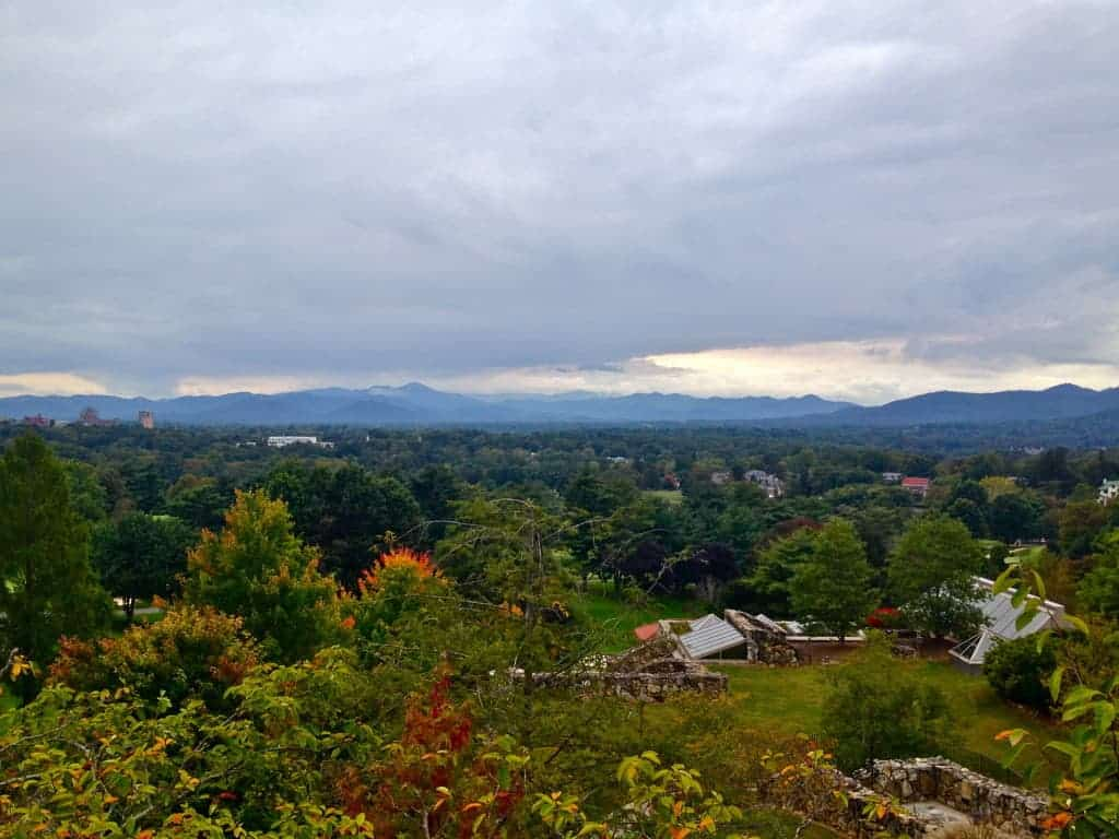 mountain view from the grove park inn