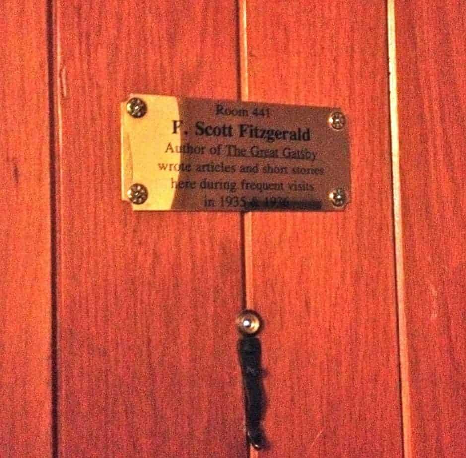 f. scott fitzgerald's room at the grove park inn