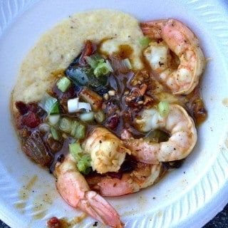 carolina panthers tailgate shrimp n grits