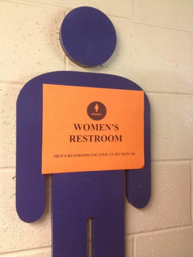 time warner cable arena charlotte restroom