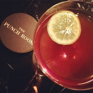 the punch room