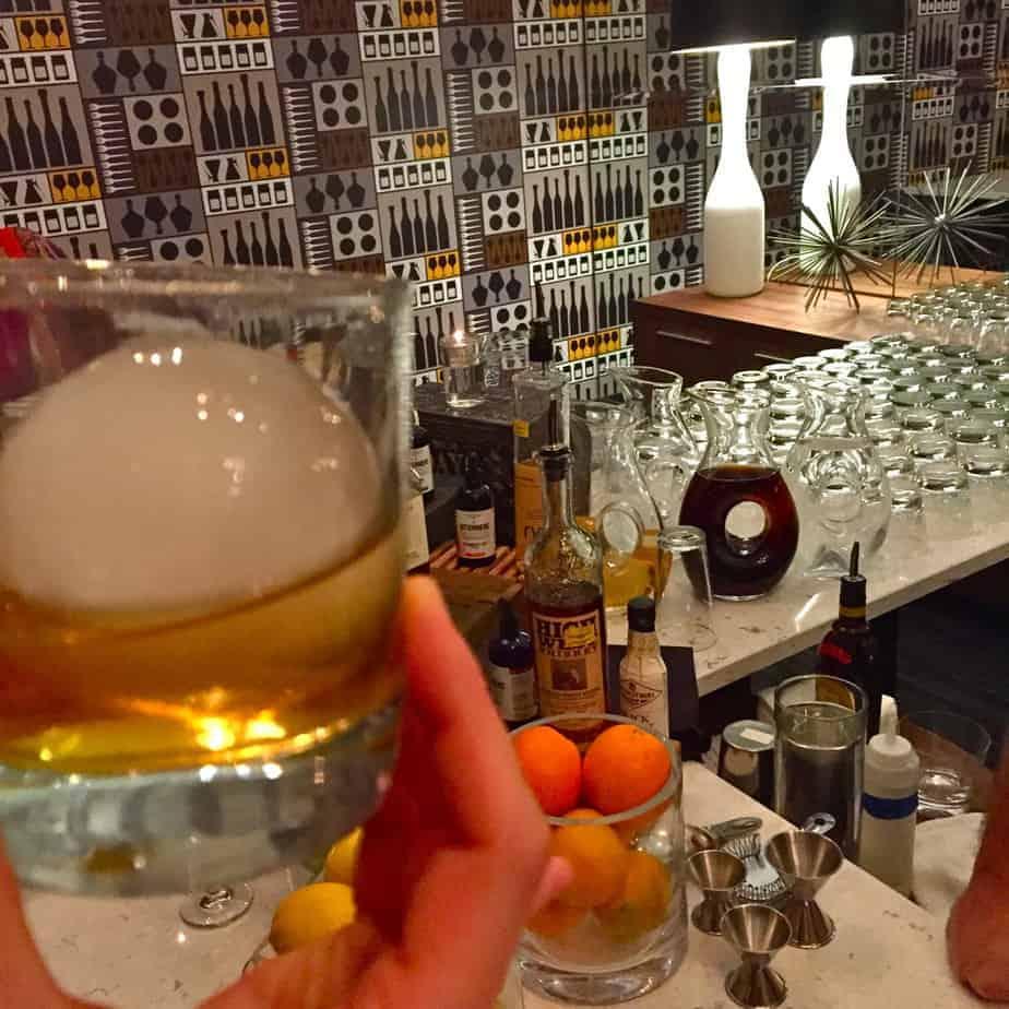 bourbon bar le meridien charlotte evoke