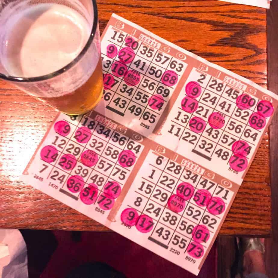 bingo at wild wing cafe