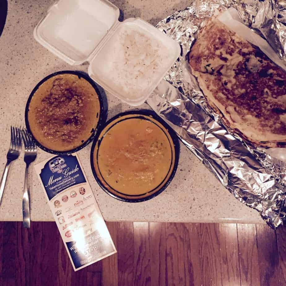 TakeHome Delivery Saffron Indian Cuisine