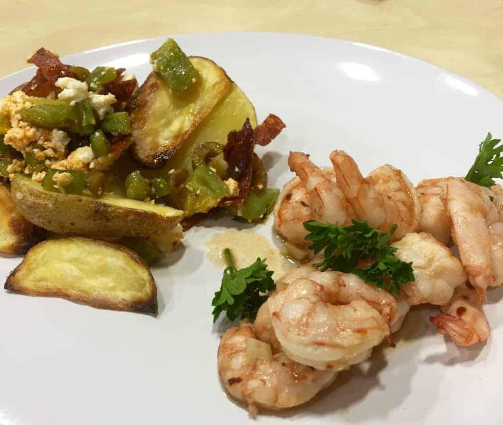 chef alyssa's garlic shrimp