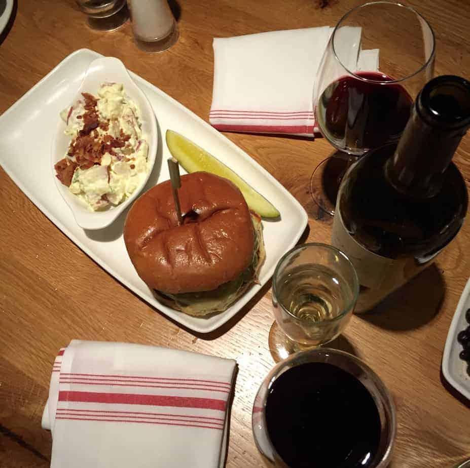 village tavern tavern burger