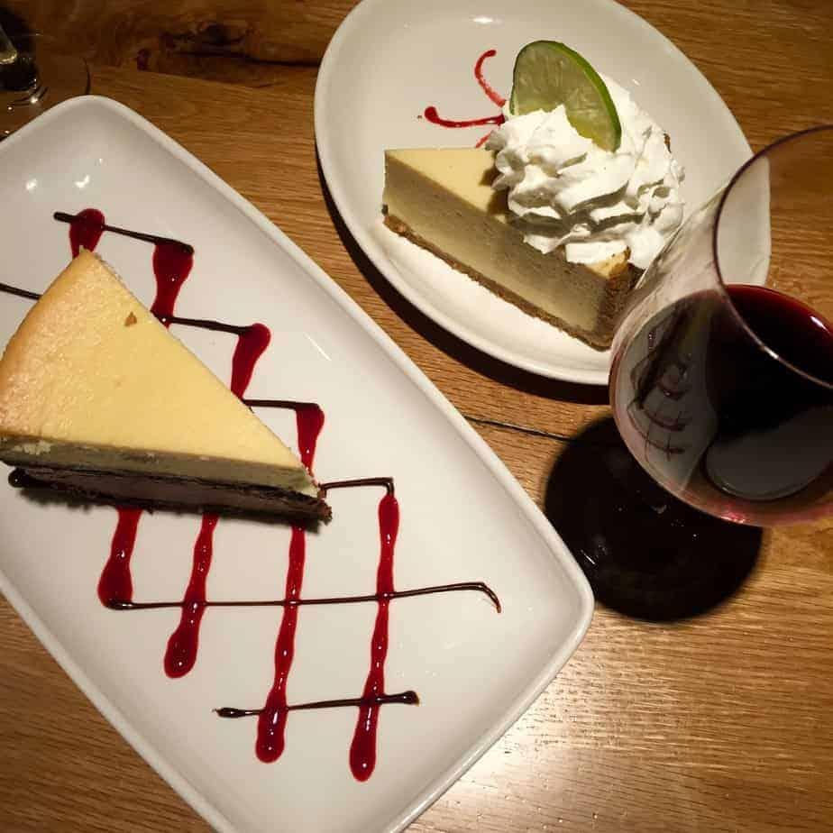 village tavern cheesecake