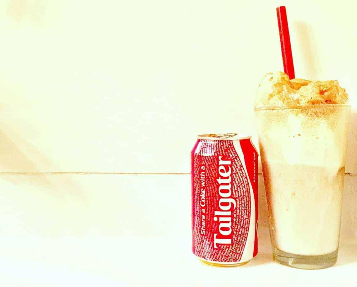coca-cola float