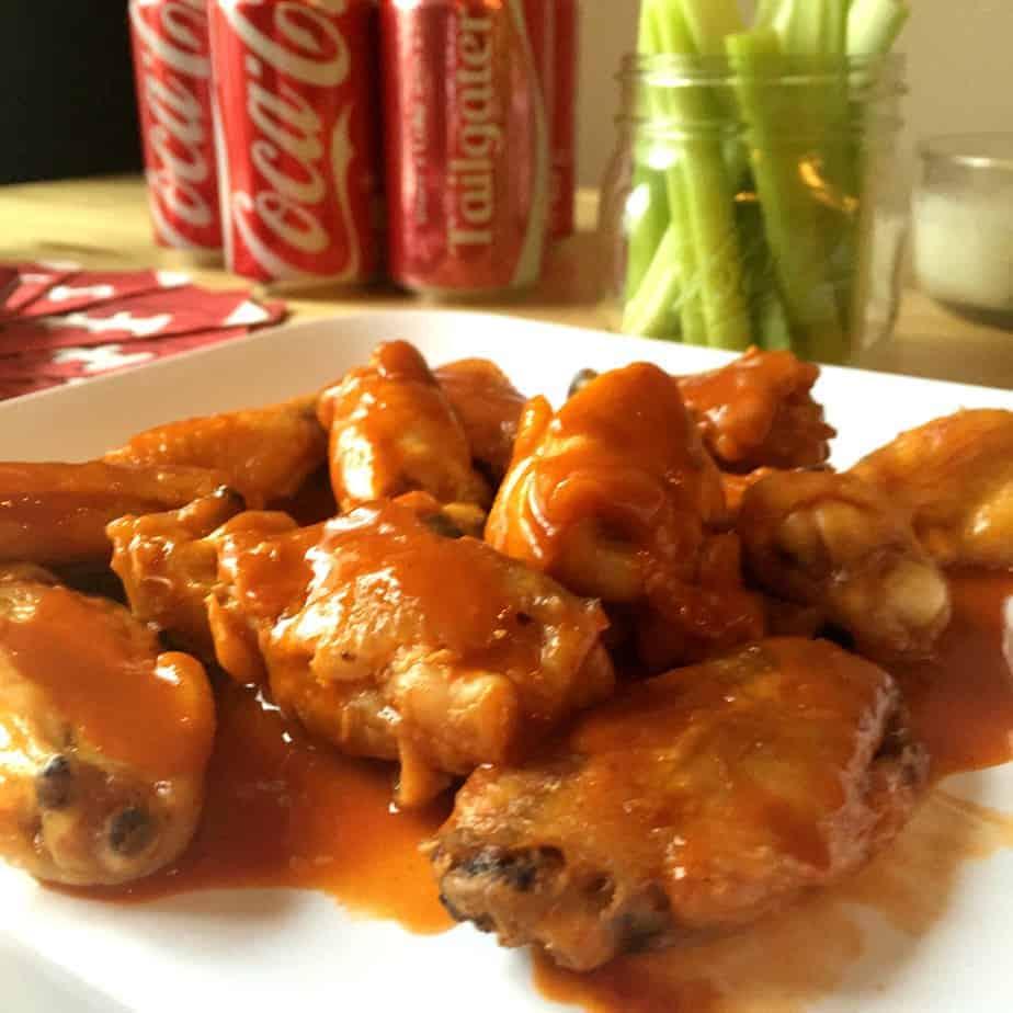 coca-cola hot wings