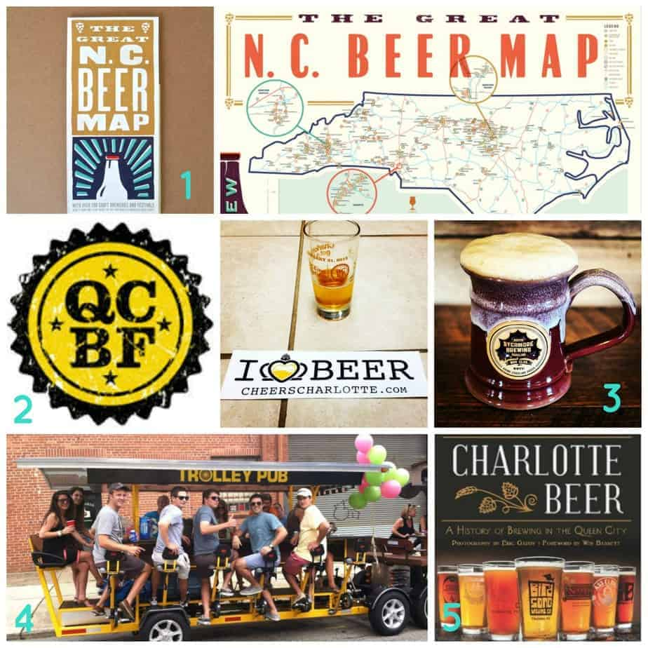 charlotte gift guide for beer lovers