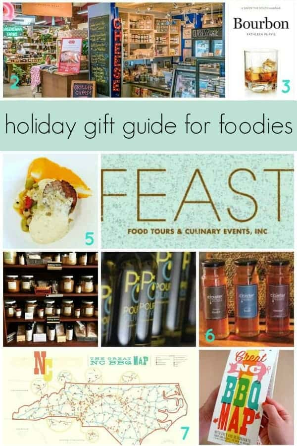 this charlotte holiday gift guide for foodies features the best local food gifts for the chef, home cook or food lover on your list. this food gift guide is full of food, products and experiences that any foodie on your list will love!