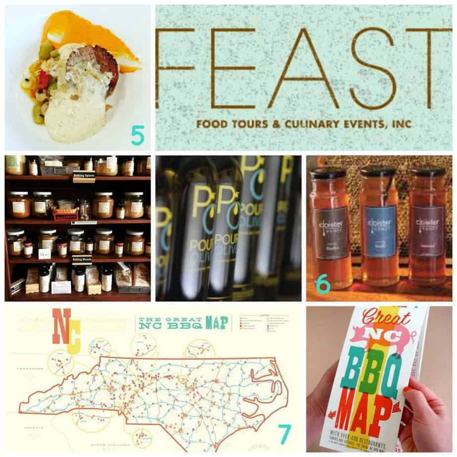 charlotte gift guide for your foodie