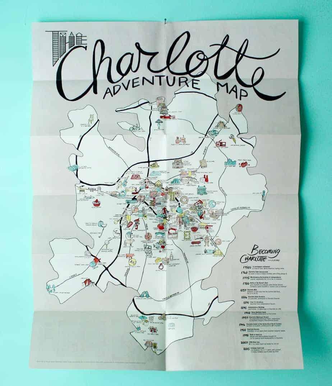 Charlotte Adventure Map