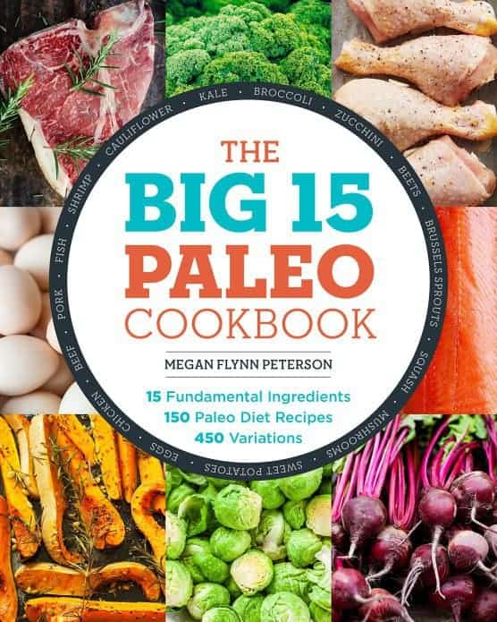 the big 15 paleo cookbook