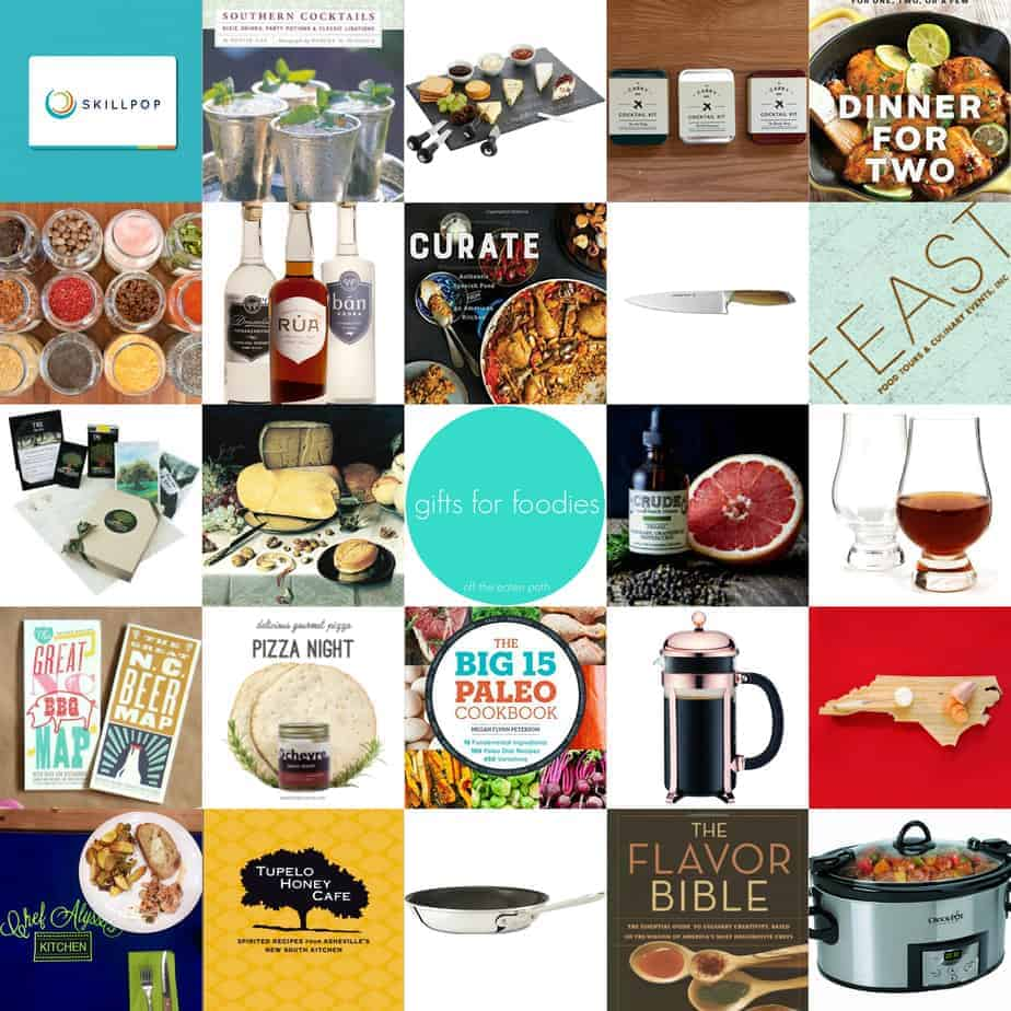 gifts for foodies holiday gift guide