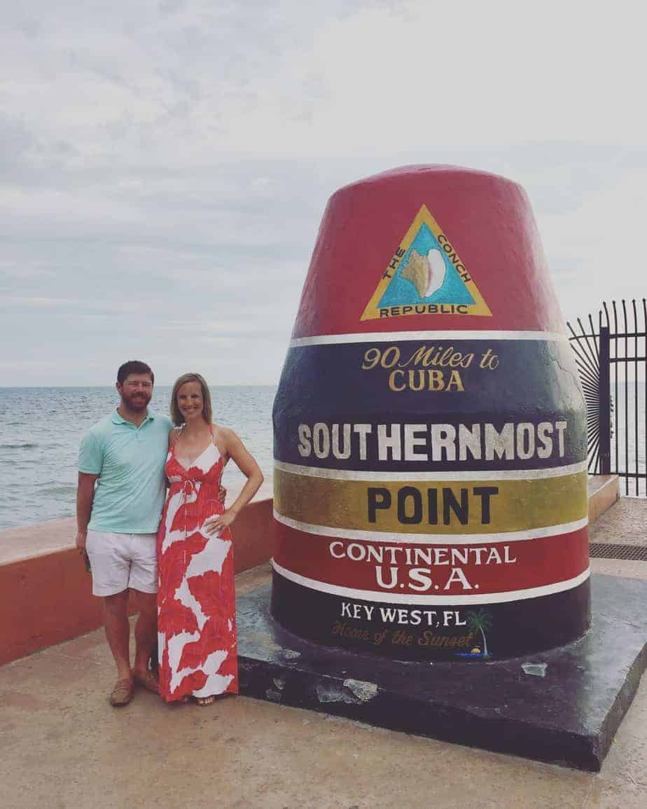 seeing florida by car southernmost point in key west