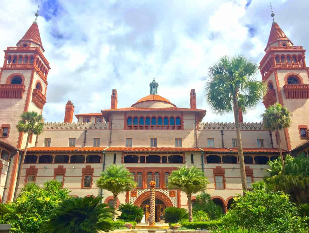 see florida by car stop in st. augustine florida