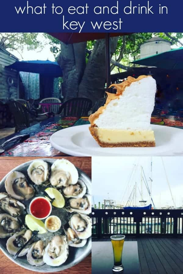 this post highlights all of the key west restaurants we enjoyed while on our florida vacation! key west is a fun, vibrant beach town that's a great travel destination and vacation spot and there were so many things to do, restaurants to enjoy and beaches to visit!