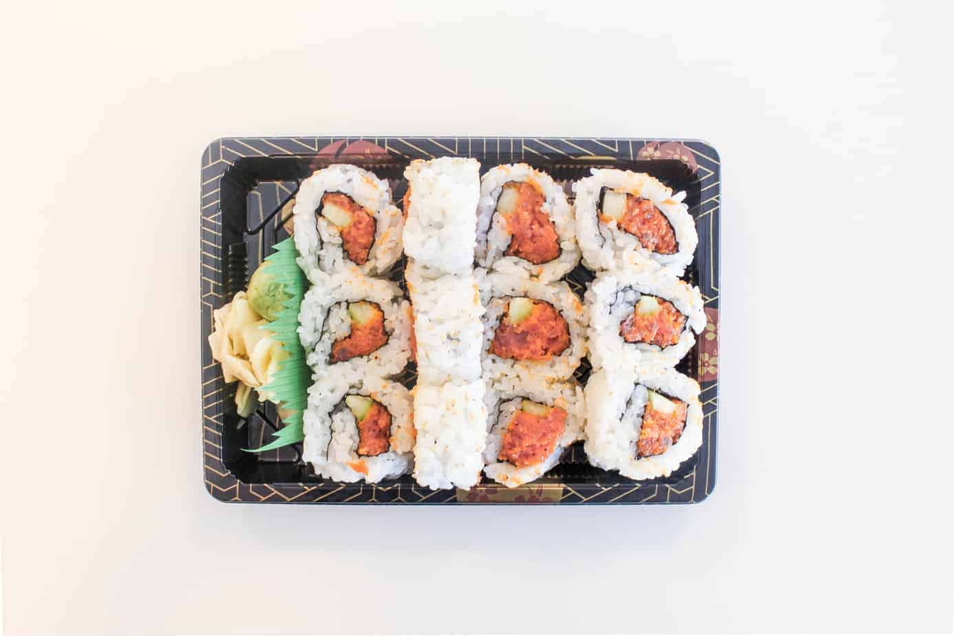 sushi lunch day in the life as a public defender