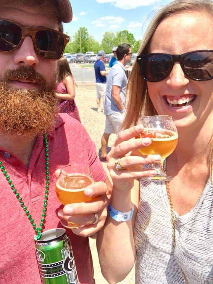 chrissie and aj rotko, off the eaten path, talk about the best breweries in charlotte