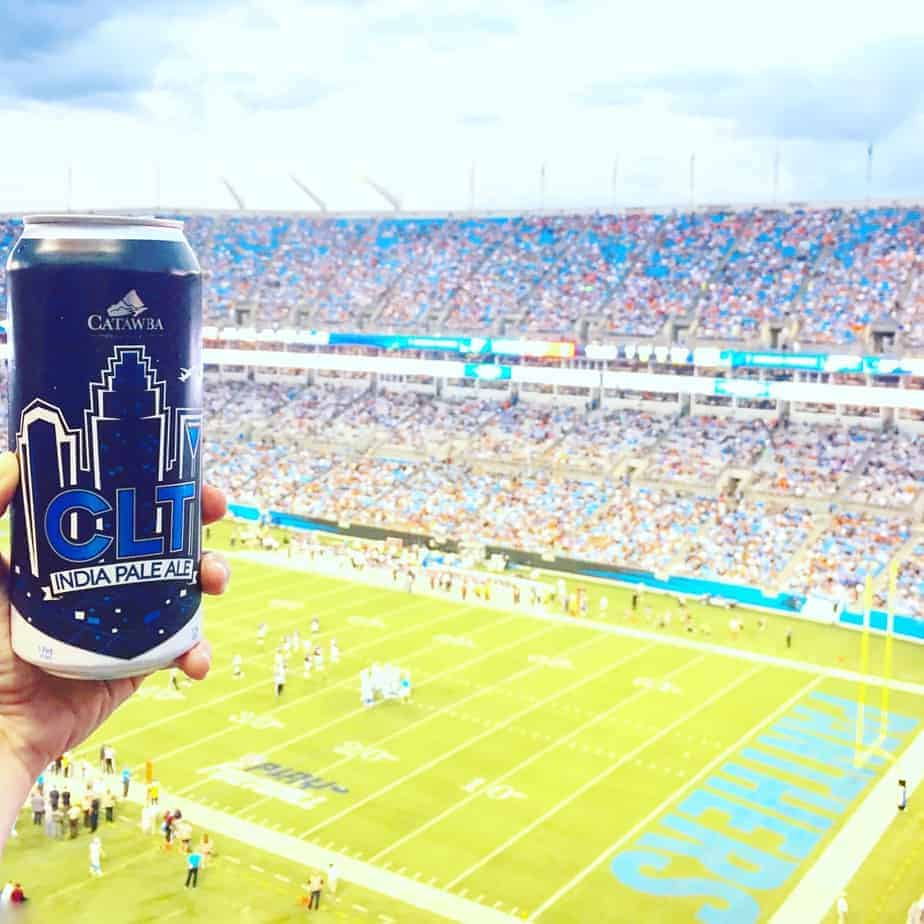 catawba beer at a panthers game best breweries in charlotte