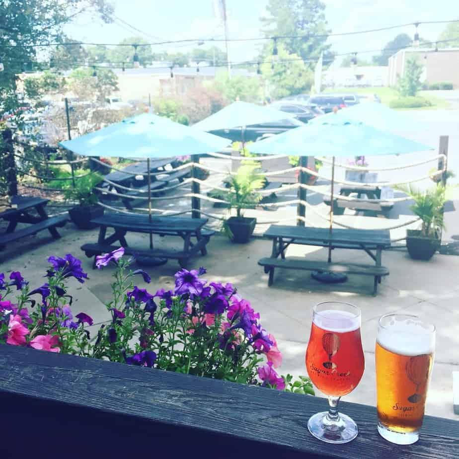 best breweries in charlotte sugar creek patio