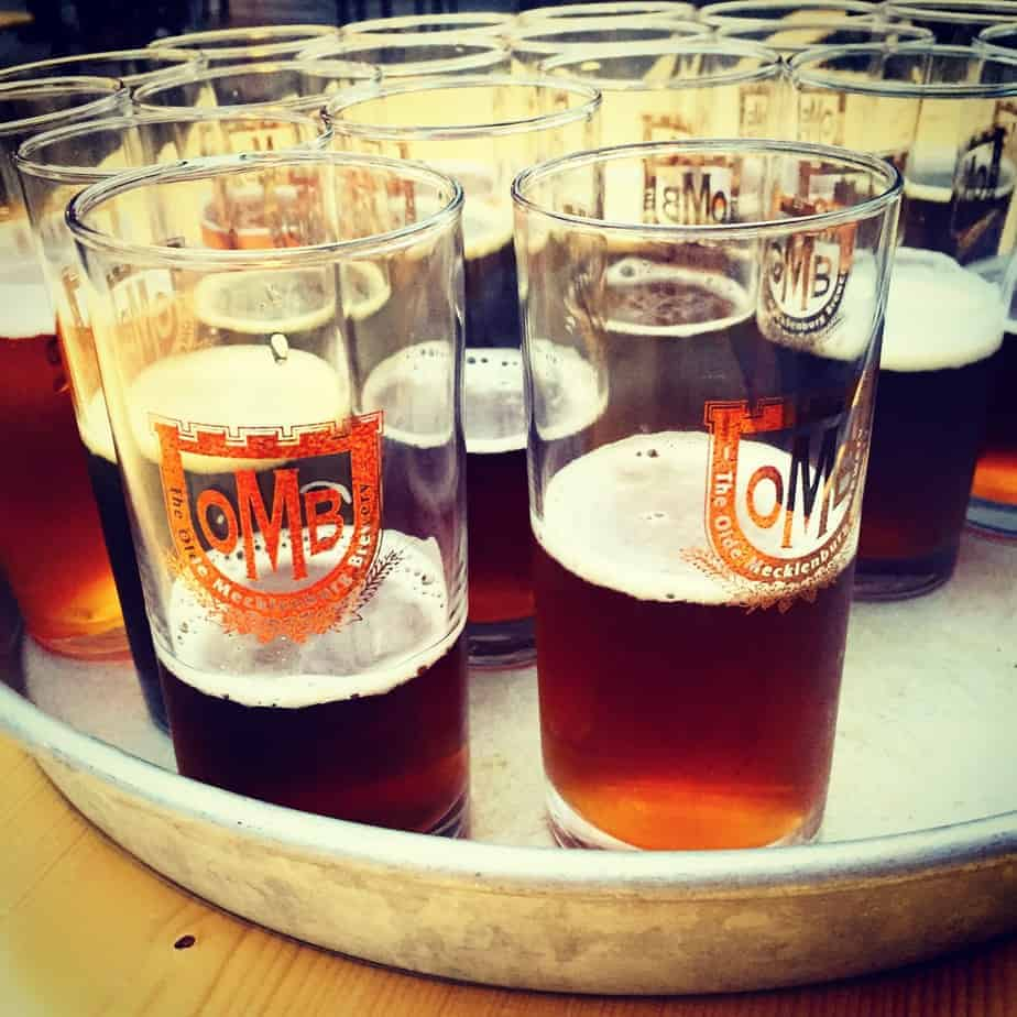olde mecklenburg brewery is one of charlotte's best breweries