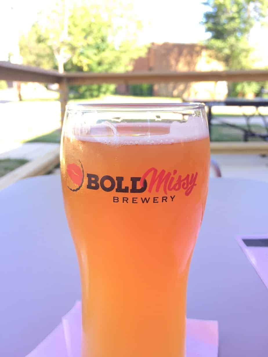 the best charlotte breweries bold missy pint at a women owned brewery
