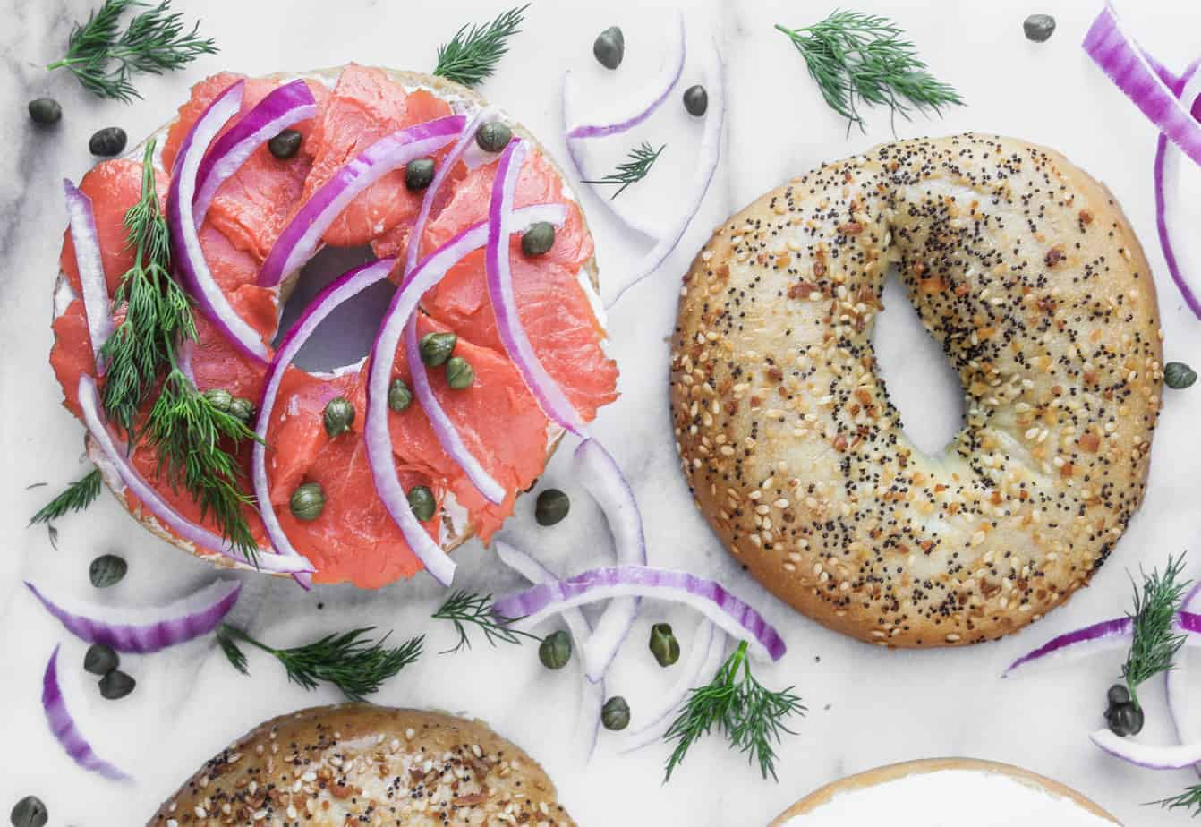 bagels with lox