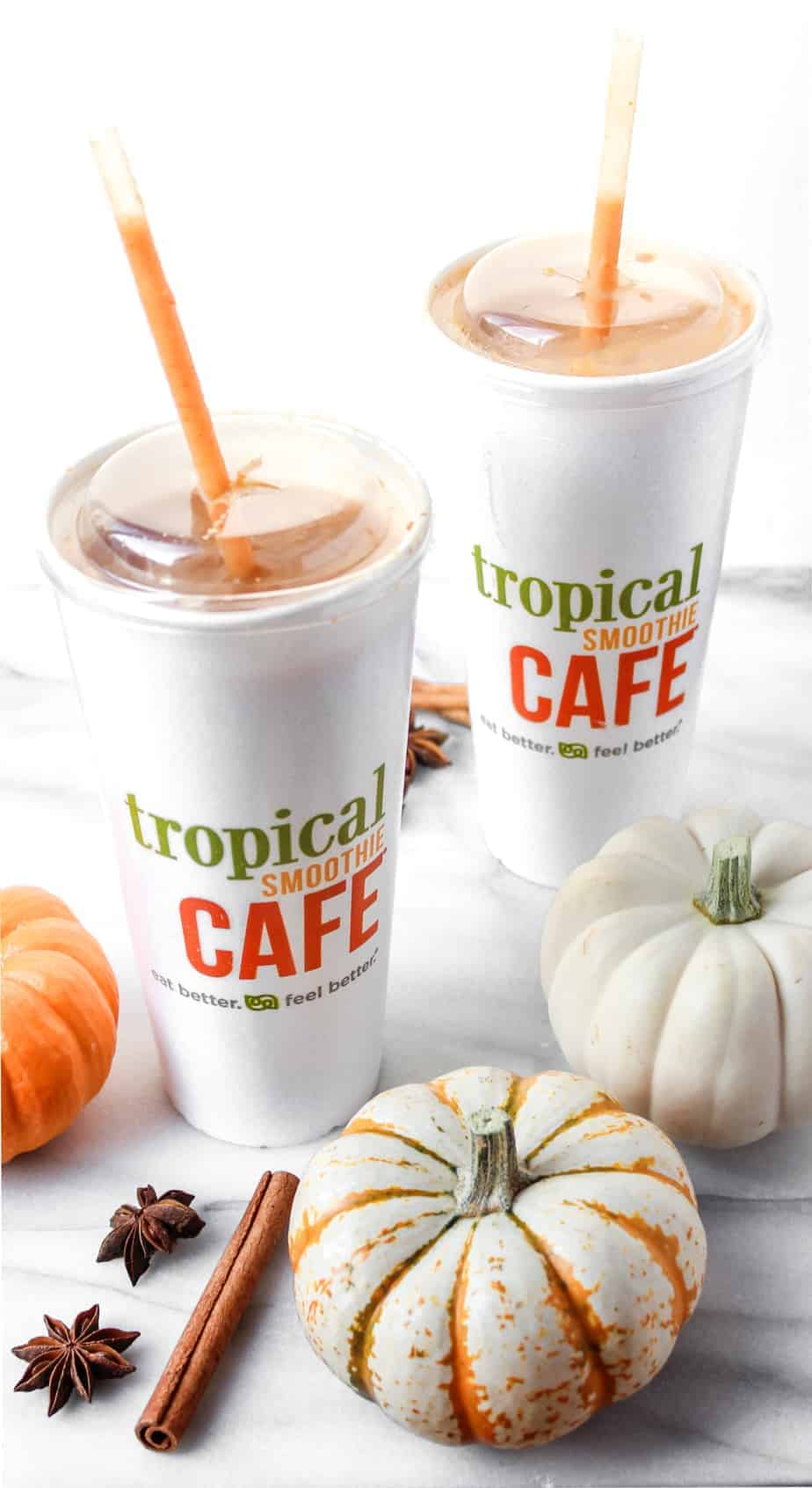 tropical smoothie cafe fall smoothies