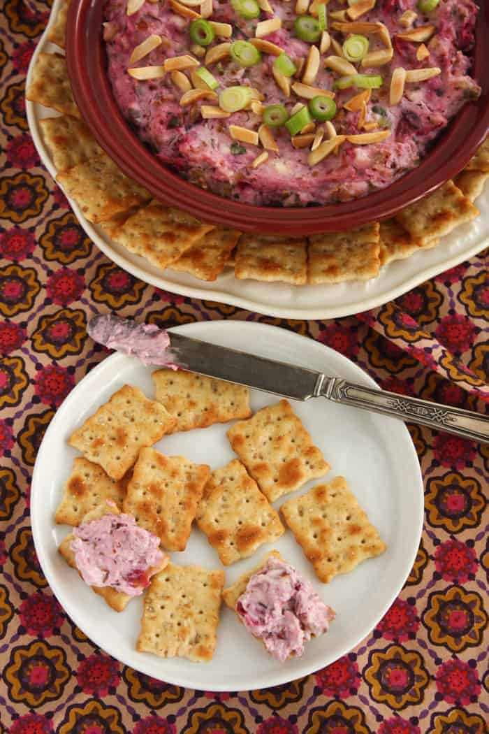 thanksgiving recipe round up cranberry dip
