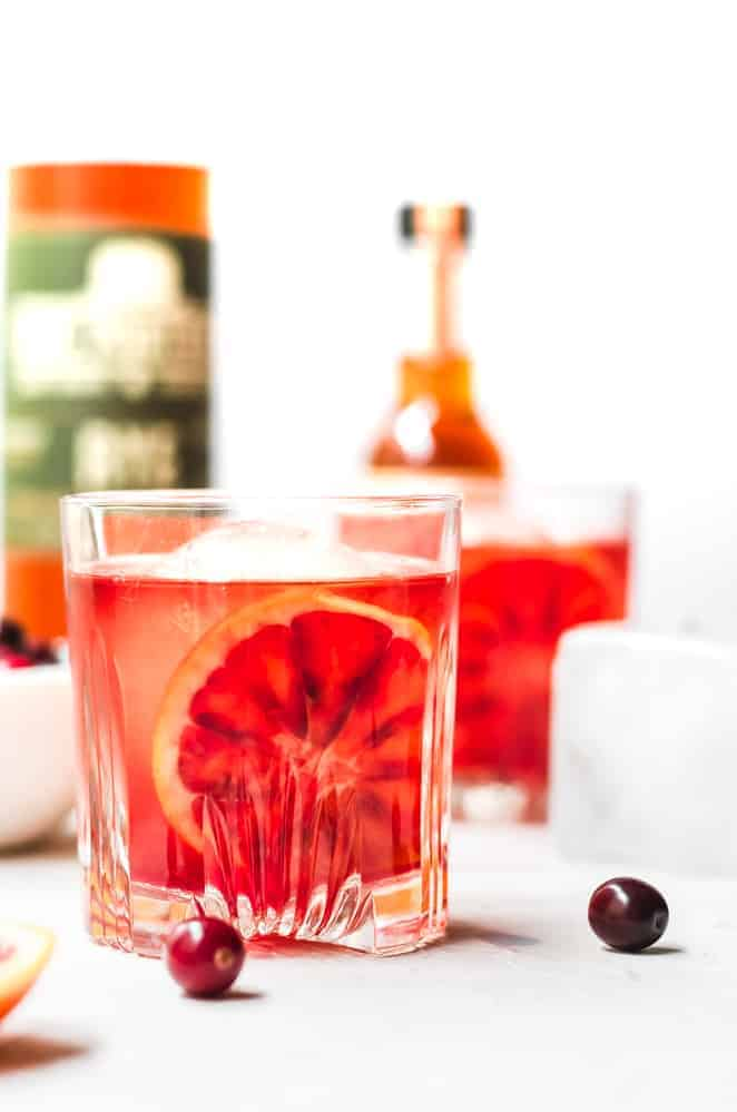 thanksgiving recipe round up cranberry orange old fashioned
