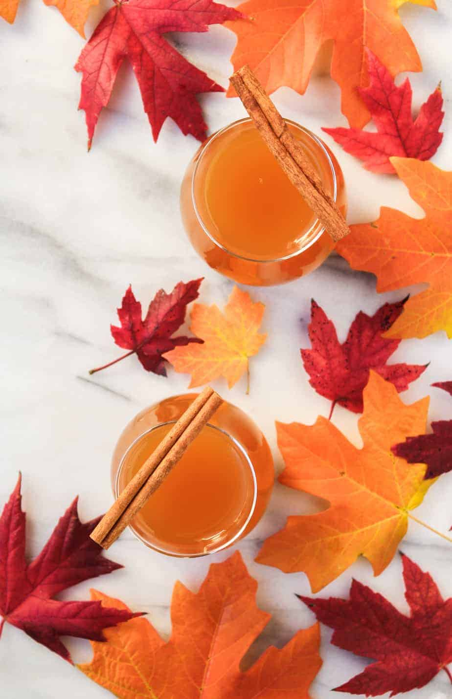 thanksgiving recipe round up spiked cider
