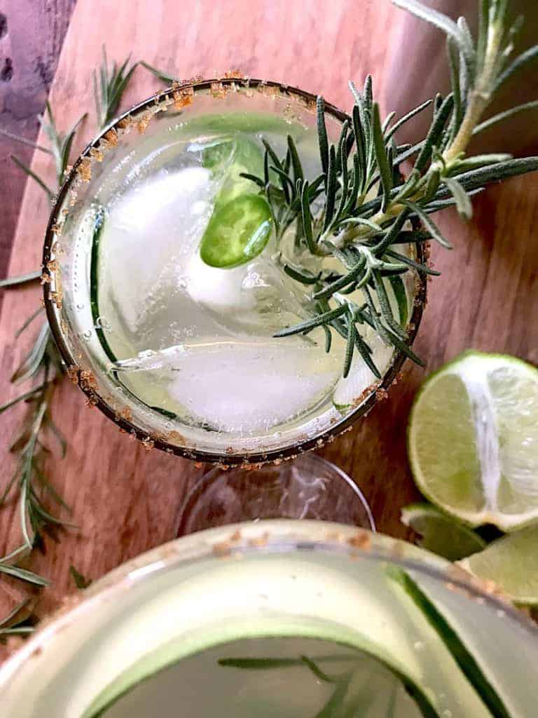 thanksgiving recipe round up vodka gimlet