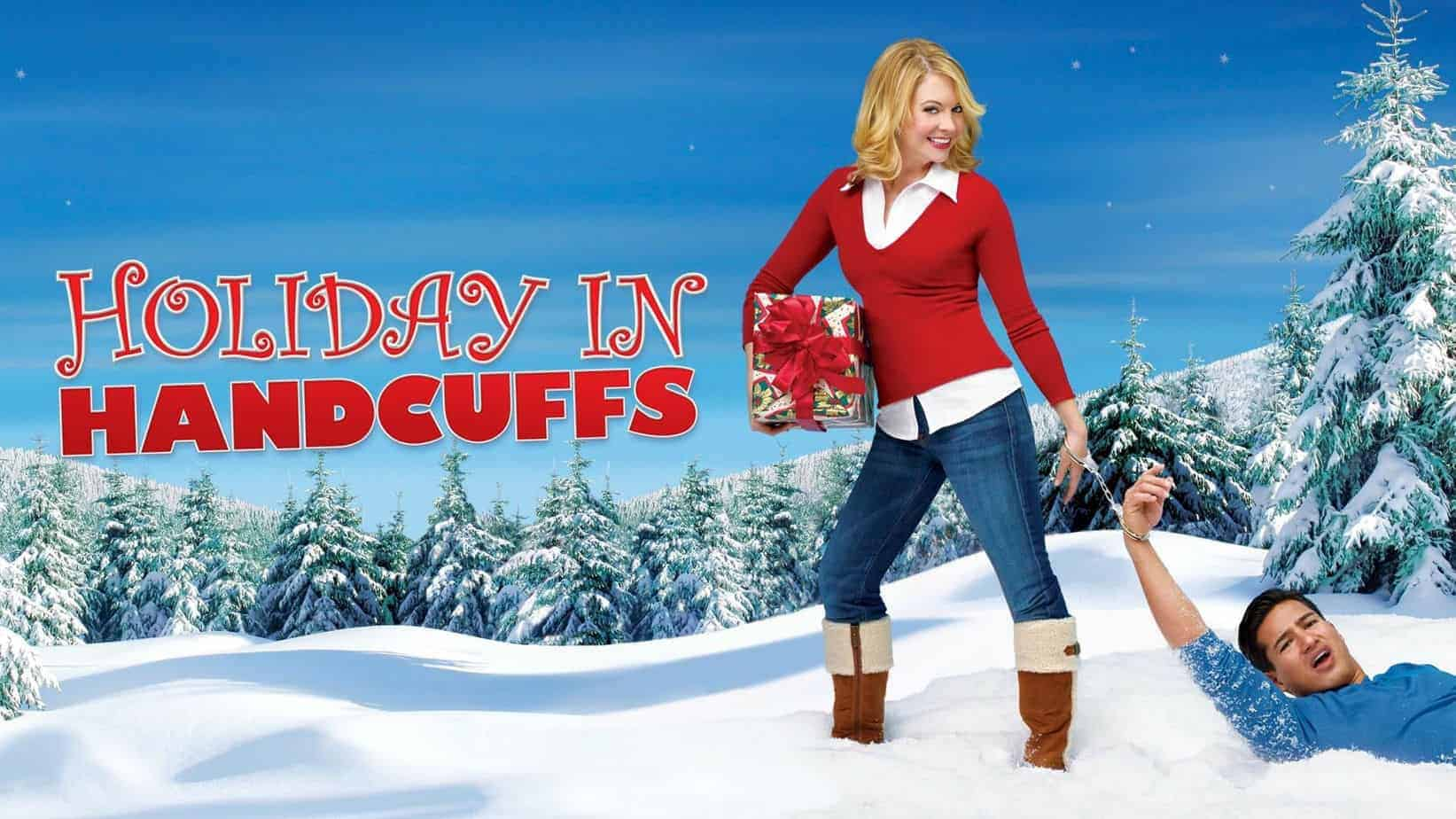 christmas movies on netflix, hulu and amazon holiday in handcuffs