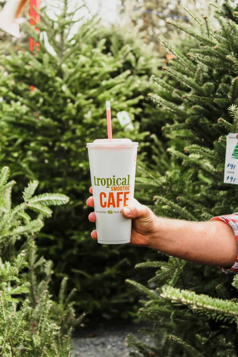 holiday bucket list christmas tree