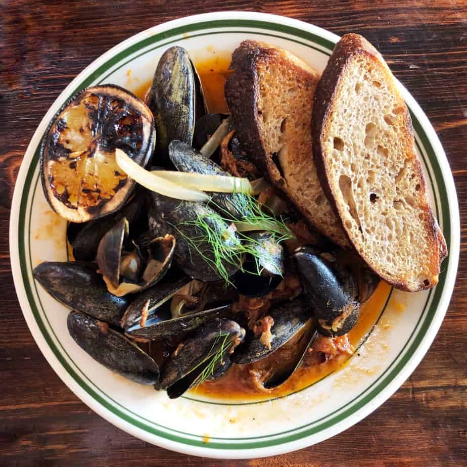 asheville travel guide buxton hall mussels