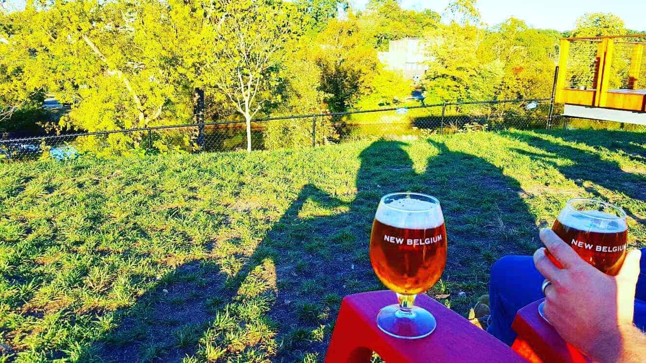 asheville travel guide new belgium brewing