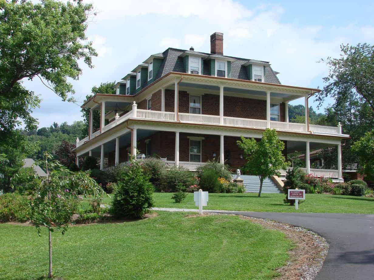 asheville bed and breakfast reynolds mansion