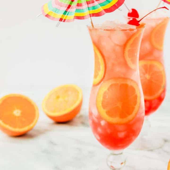 mardi gras hurricane drink
