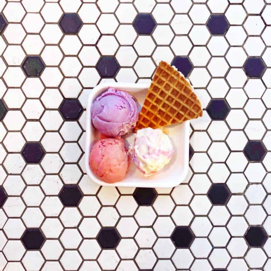 best charlotte restaurants jeni's ice cream trio