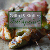 Bacon Wrapped Grilled Jalapeños