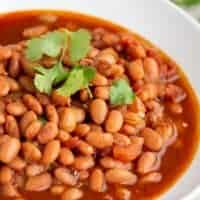 Pressure Cooker (Instant Pot) Pinto Beans