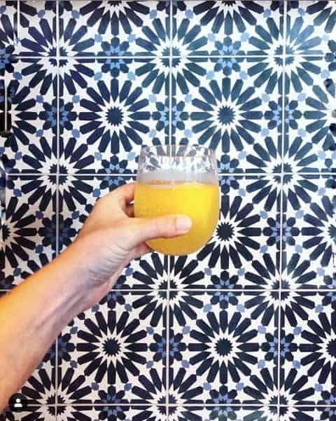 charlotte's best brunch mimosa at chef alyssa's kitchen