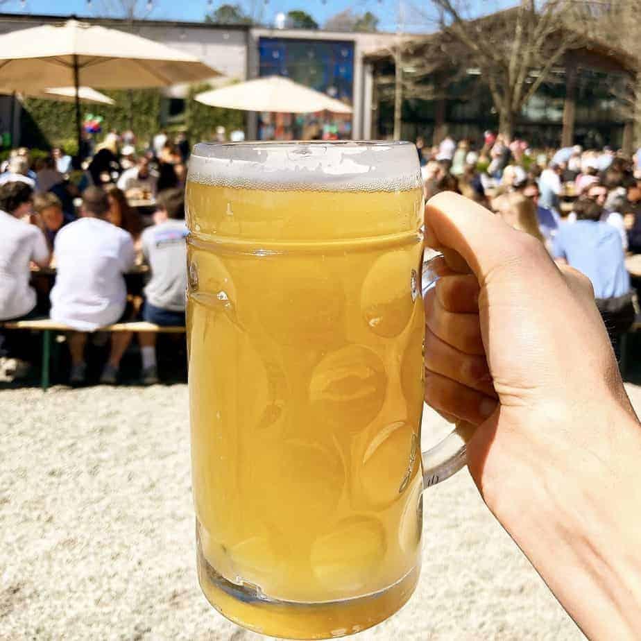 olde meck mug of beer best charlotte breweries