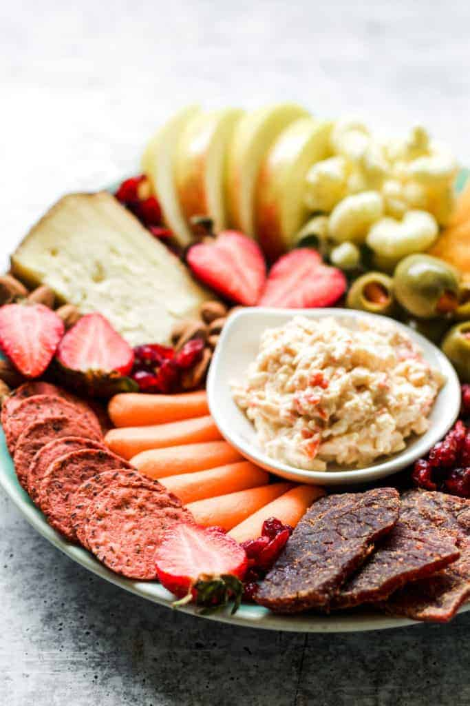 pantry plate snack board